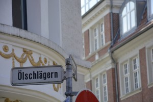"""Der Ölschlägern ist eine der """"Hauptstraßen"""" im Magniviertel. Foto: BSM"""