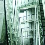 Ein klassisches 50er-Jahre-Treppenhaus. Foto: Bärbel Mäkeler