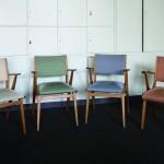 Klint-Stühle. Foto: Bärbel Mäkeler