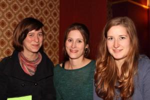 Rike Breier, Marleen Kristin Schwarz und Eileen Winkler organisieren zum dritten Mal den Jour Fixe im LOT. Foto: Stephen Dietl