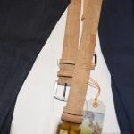 Diese Gürtel sind aus Kork, aber genauso robust wie die aus Leder. Foto: BSM