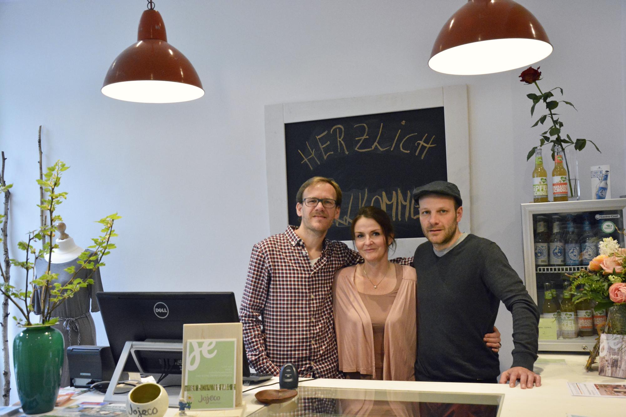 Das Team von jojeco: Jens, Kerstin und Johannes. Foto: BSM