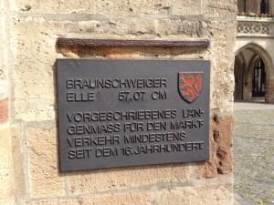 Die Braunschweiger Elle am Altstadtmarkt. Foto: BSM