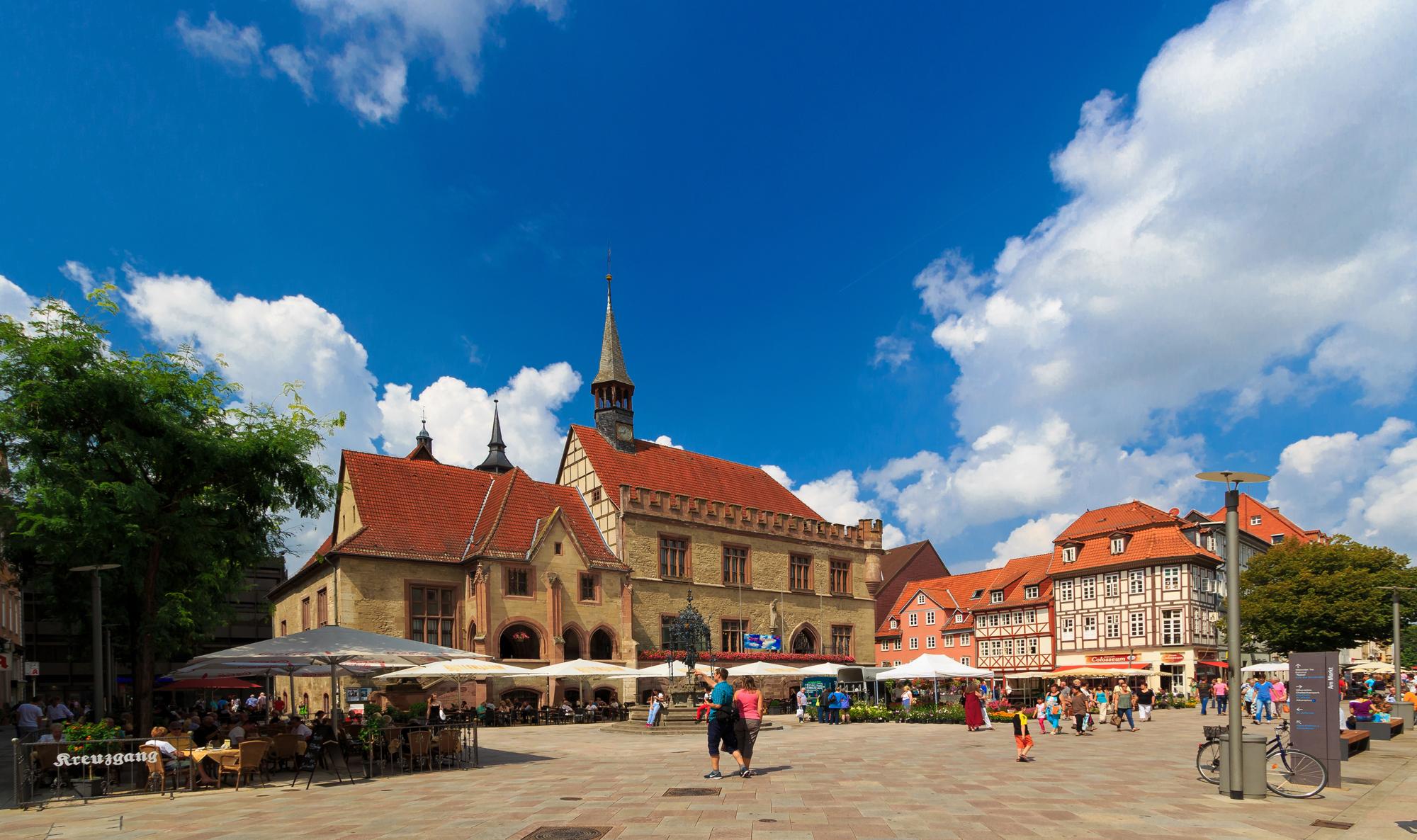Das alte Rathaus in Göttingen. Foto: Göttingen Tourismus e.V.