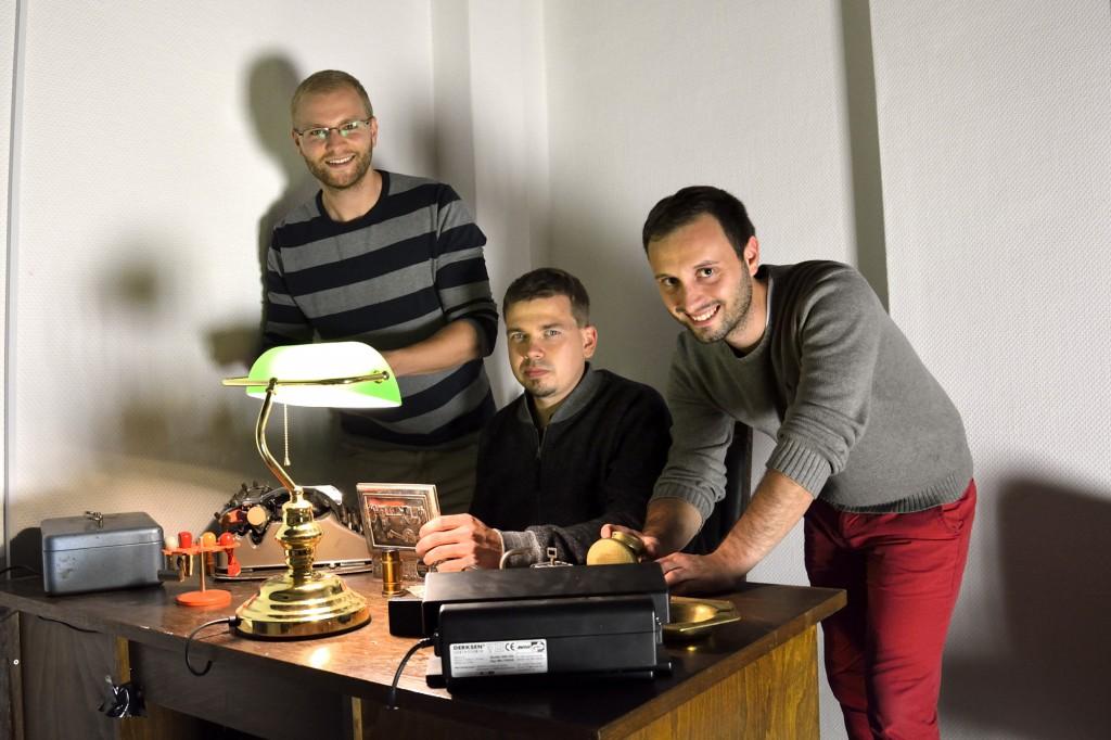 Fridolin Muuß, Hauke Loges und Daniel Unger haben mit Stephan Diekmann (nicht im Bild) Hidden in Braunschweig gegründet. Foto: BSM