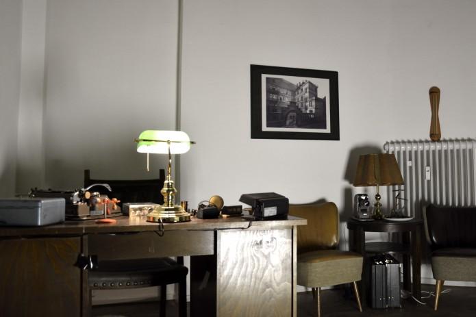 Plötzlich befinden wir uns im Büro des Direktors der Reichsbank. Wie es scheint, ist er in einer Verschwörung verwickelt ... Foto: BSM