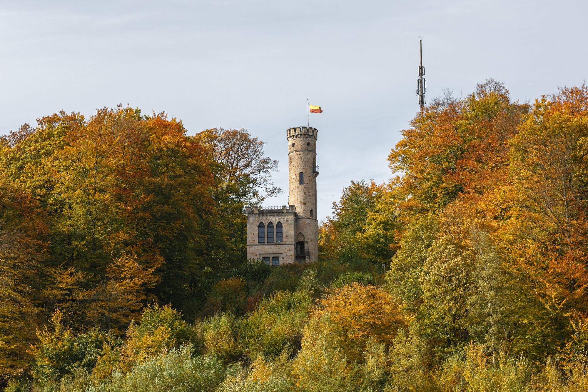 Beliebtes Ziel von Wanderern: die Tillyschanze. Foto: Touristik Naturpark Münden e. V./Photo Burkhardt