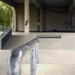 Hier können Skater ihr Können zeigen.