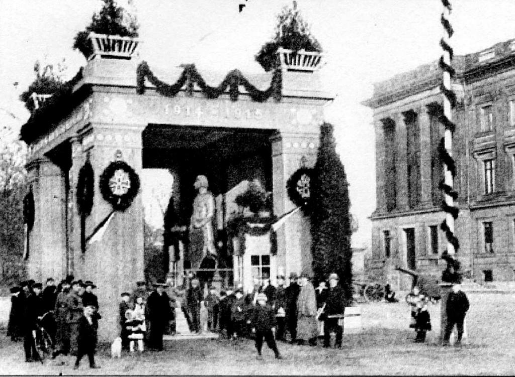 Ein Bild aus der Zeit zwischen 1915 und 1918. Gundolf Algermissen berichtet in seinem Buch über die Zeit. Foto: Stadtarchiv Braunschweig