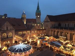 Der Braunschweiger Weihnachtsmarkt hat noch bis zum 29. Dezember geöffnet. Foto: BSM