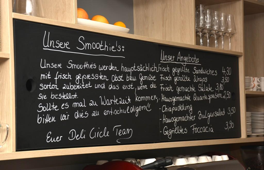 Frisch zubereitete Smoothies ergänzen das Speiseangebot. Foto: Braunschweig Stadtmarketing GmbH