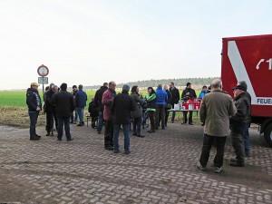 Pause bei der Braunkohlwanderung der Ortsfeuerwehr Dibbesdorf. Foto: www.feuerwehr-dibbesdorf.de