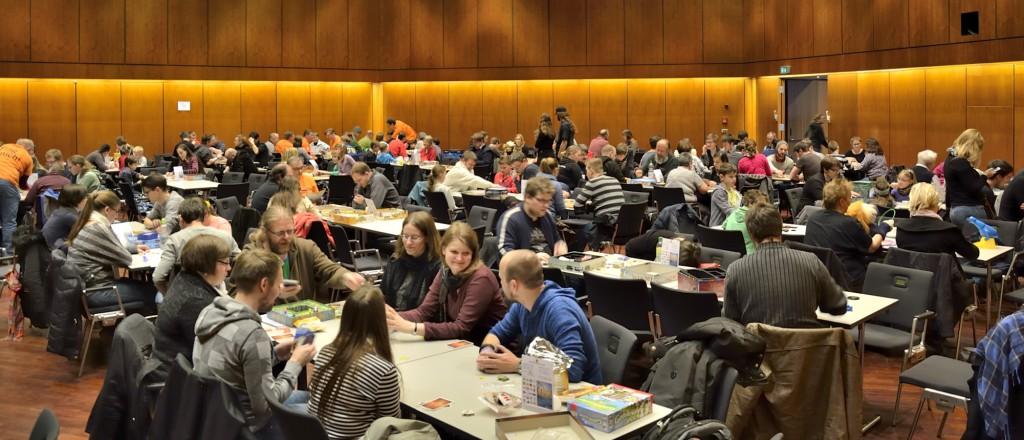"""Rund 750 Spielwütige besuchten am Wochenende die Messe """"Braunschweig spielt"""". Foto: BSM"""