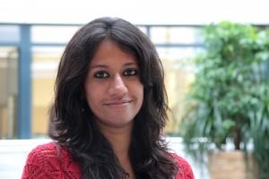 Die Inderin Sripriya Murthy kam 2012 nach Braunschweig und ist von der Löwenstadt begeistert. Foto: HZI