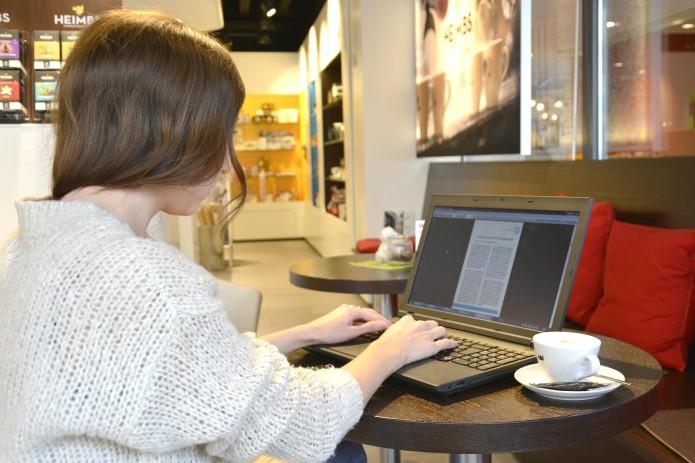 Café in der Touristinfo. Foto: BSM