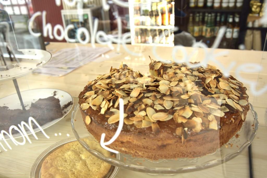 Café makery im Magniviertel, Apfelkuchen