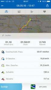 Von Braunschweig und Wolfsburg und zurück. Unserer Route in der App. Foto: BSM