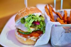 Rudas Burger im Rudas Restaurant Braunschweig. Foto: Annanikabu