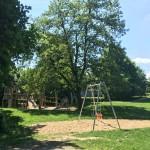 Direkt am Weg auf Höhe Madamenweg, liegt ein Spielplatz. Foto: BSM