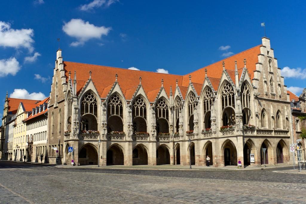 Von außen wie von innen sehr sehenswert: Das Altstadtrathaus. Foto: Braunschweig Stadtmarketing GmbH / Gerald Grote