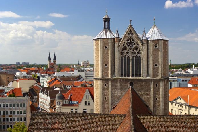 Blick vom Rathausturm. Foto: Braunschweig Stadtmarketing GmbH / Gerald Grote