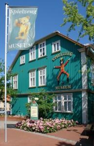 Spielmuseum mit drei Etagen voller Spielzeug. Foto: Soltau Touristik