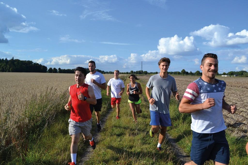 Sportliche Integration beim ersten Stiftungslauf. Foto: Veranstalter