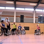 Training, Rollstuhlbasketball, Michael Glanemann, MTV Braunschweig