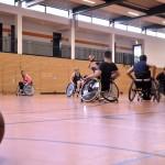 Training, Rollstuhlbasketball, Laufwege, MTV Braunschweig