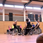 Training, Rollstuhlbasketball, Angriff und Verteidigung, MTV Braunschweig
