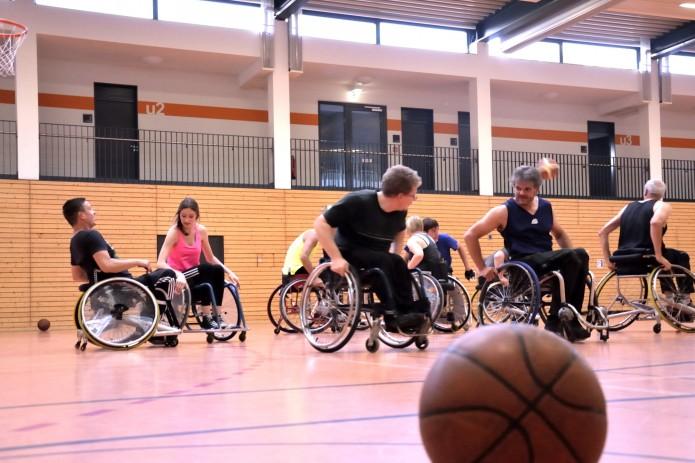 Training, Rollstuhlbasketball, MTV Braunschweig