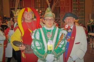Das Braunschweiger Dreigestirn. Foto: Komitee Braunschweiger Karneval