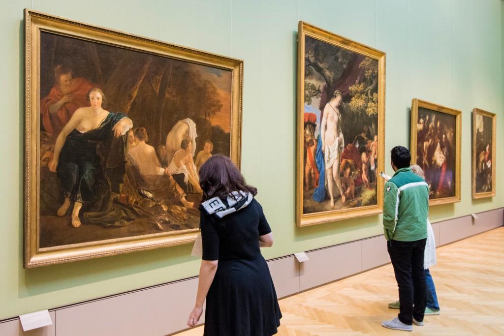 Ein Einblick in die Gemäldegalerie des Herzog Anton Ulrich-Museums. Foto: BSM