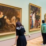 Ein Einblick in die Gemäldegalerie.