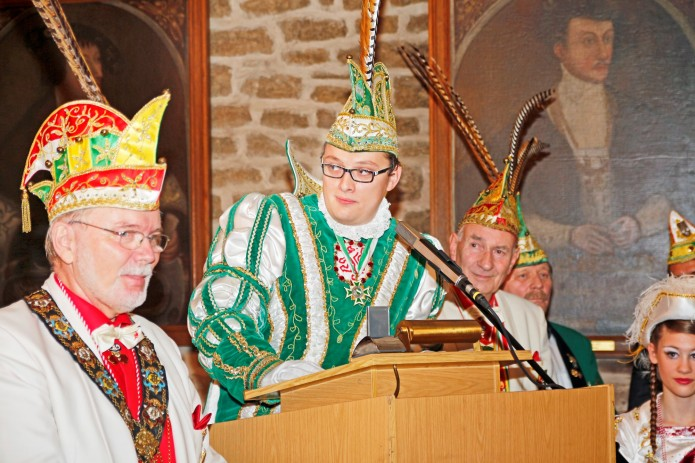 Prinz Nils III bei seiner Rede_Komitee Braunschweiger Karneval_kl