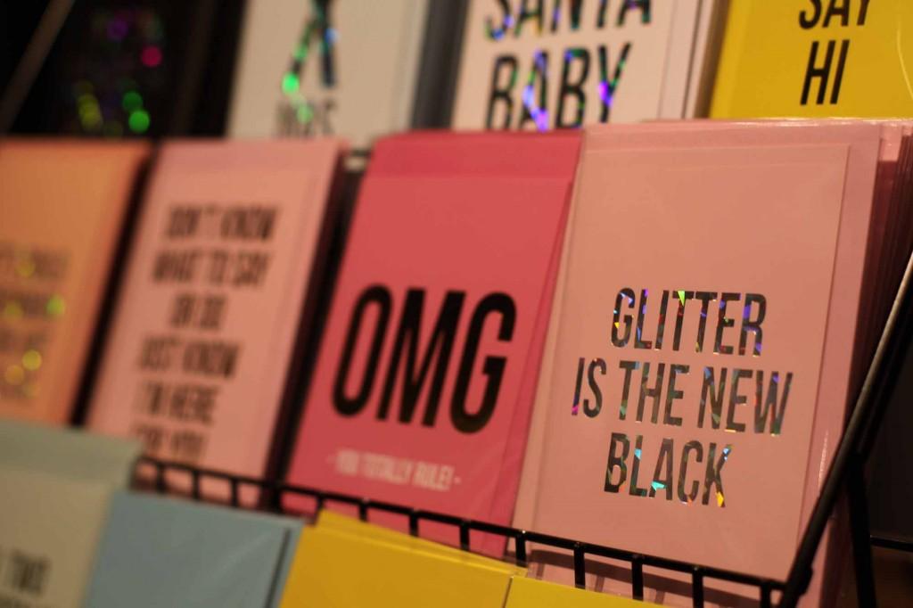 Grußkarten im Hey Store, Braunschweig.