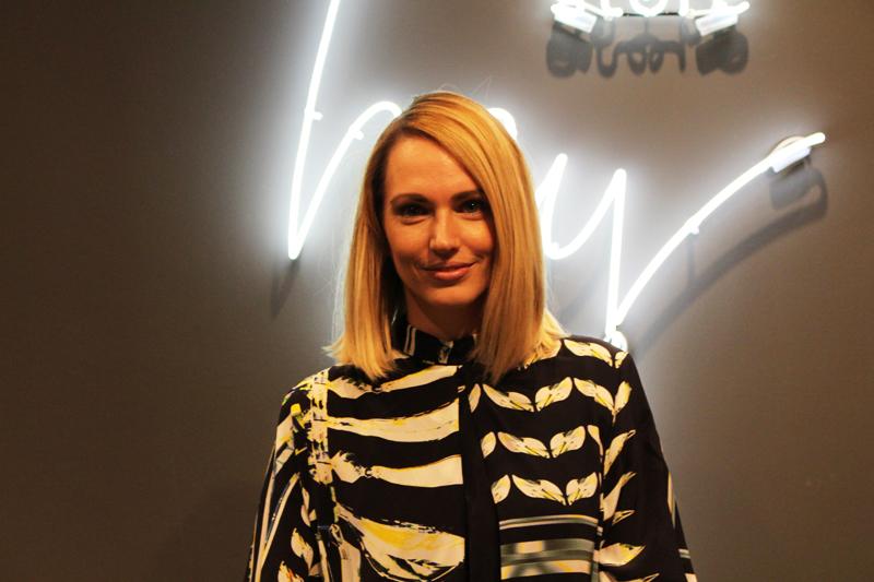 Anne-Kathrin Strauss in ihrem neuen Concept-Store. Foto: Elif Redzo