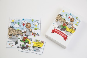 Das liebevoll illustrierte Puzzle ist ein schönes Geschenk für Kinder. Foto: BSM / Marek Kruszewski