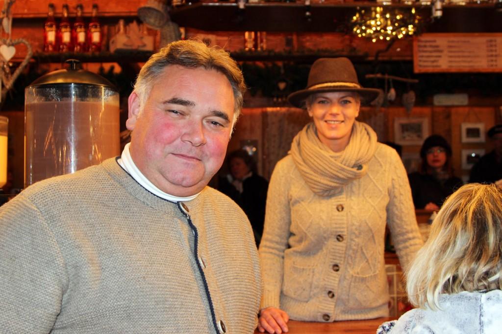 Stefan Franz freut sich trotz vielfältiger Aufgaben im Sommer immer auf den Braunschweiger Weihnachtsmarkt. Foto: Stephen Dietl