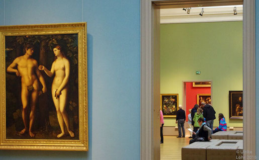 Ulrikes Highlight im Museum: die Wandfarben. Und alles andere. Foto: Ulrike Löhr