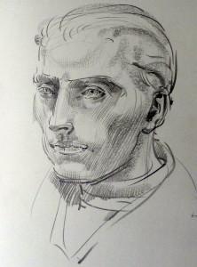 Eine wichtige Grundlage für den Bildhauer ist das Zeichnen. Foto: Dr. Josef Temming