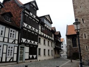 Im Michaelisviertel reiht sich ein Fachwerkhaus an das andere. Foto: BSM