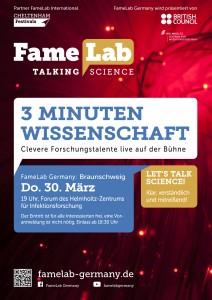 FameLab: Wissenschaft in 3 Minuten. Foto: Helmholtz Zentrum für Infektionsforschung