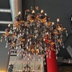 Kronleuchter im Restaurant Liebeskuh.
