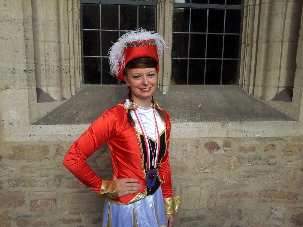 Svenja Großhennig tanzt und trainiert für die Braunschweiger Karnevals-Gesellschaft. Foto: Svenja Großhennig