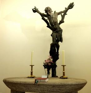 Die Darstellung Jesu wurde vom Bildhauer Weber sehr realitätsnah umgesetzt. Foto: BSM
