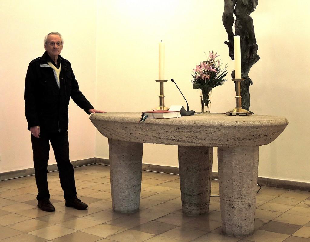 Helmut Rothert ist Kirchenführer in der Bugenhagen-Kirche und setzt sich intensiv mit dem Thema Reformation in Braunschweig auseinander.