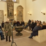 In der Taufecke der Magnikirche steht das Taufbecken, an dem die erste Taufe in deutscher Sprache durchgeführt wurde. Foto: BSM