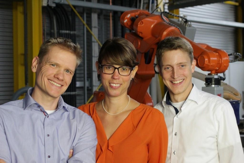 Das Gründerteam (v.l.n.r.): Christian Löchte, Kirsten Büchler, Holger Kunz. Foto: FORMHAND