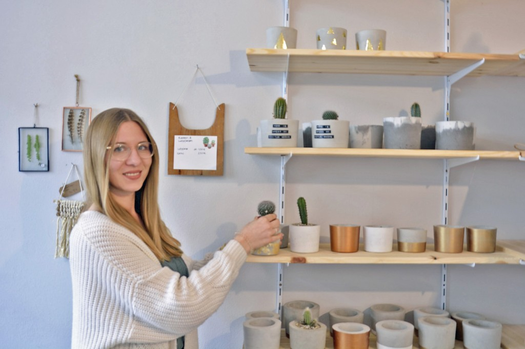 Dass Alyssa Schulze ihr Handwerk versteht, erkennt man in jedem Zentimeter Shopgestaltung. Foto: BSM